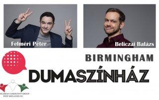 Felméri Péter és Beliczai Balázs Birminghamben